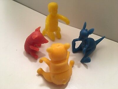 1965 WINNIE the POOH BREAKFAST BUDDIES NABISCO CEREAL SPOON SITTER WHOLESALE (4)