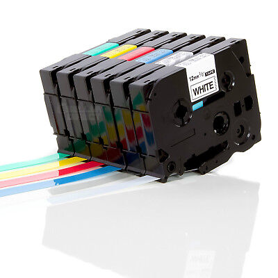 Great Quality Compatible For Brother P-Touch Laminated Tze Label Tape 6/9/12mm