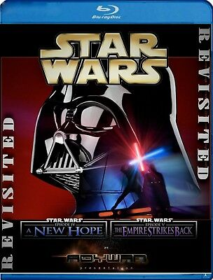 Star Wars New Hope/Empire Strikes Back Revisited Adywan Edits Blu-ray Dual pack