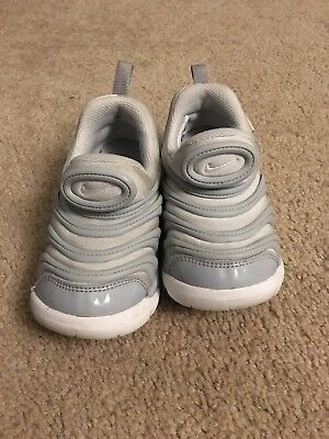 innovative design 95b68 096ac Nike Dynamo Free Infant Toddler Kids Shoes size 9C in white gray