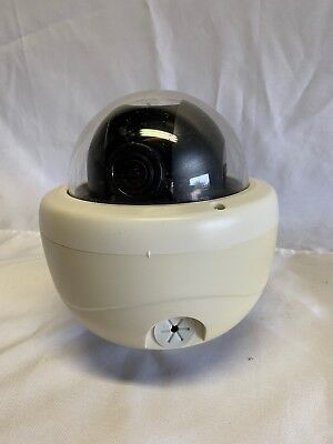 i3 International Indoor Colour Vandal Proof Dome Camera White Di721 Series