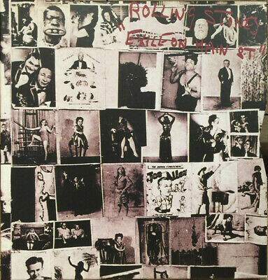 The Rolling Stones Exile On Main St super deluxe vinyl 2 LP / 2CD / DVD box set