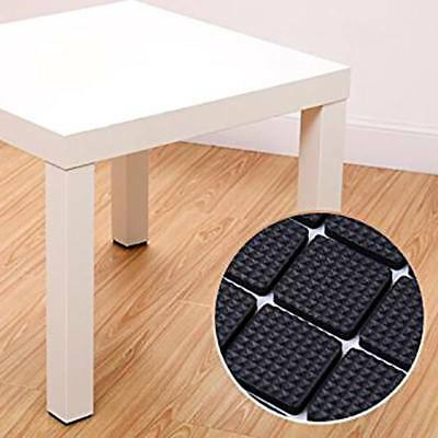 Chair Leg Cap Table Feet Rubber Pads Floor Cover Non-slip Furniture Sticky Tips