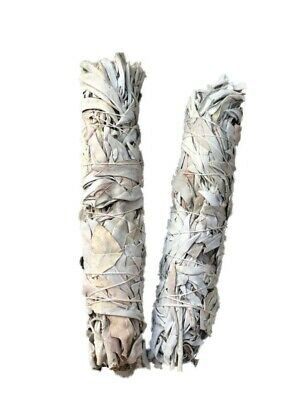 "Smudge Stick California White Sage - Extra Large / Jumbo 9"" (22cm) - Pack of 2"