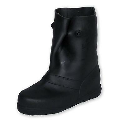"""TREDS 14853 Super Tough 12"""" Pull-On Stretch Rubber Overboots for Rain, Slush, Sn"""
