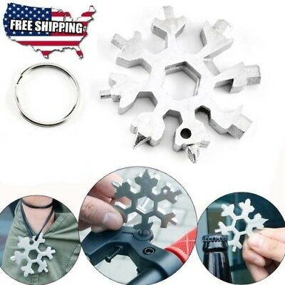 Amenitee 18-in-1 stainless steel snowflakes multi-tool [ Free Shipping ] -#MYS