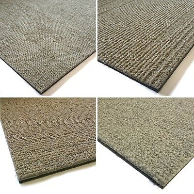 SAMPLE Desso CARPET TILES Beige Sand Fawn Grey Pattern SOUNDMASTER Backing