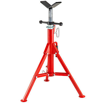 "Fold-a-Jack Roller Head Pipe Stand Height 32/""-55/"" 4500lbs. Pipe Capacity 12/"""