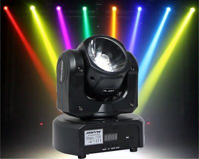 60W Osram COB LED RGBW 4in1 Mini Moving Head 4° Beam DJ Club X1 Dot Effekt TMH