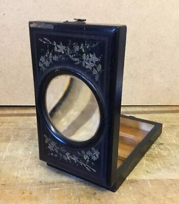 Victorian Antique Travel Pocket  Magnifying Graphoscope Mono Viewer