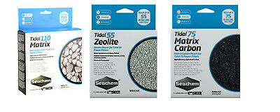 Seachem Tidal 55 75 100 Replacement Filter Media Sponge Matrix Carbon Zeolite