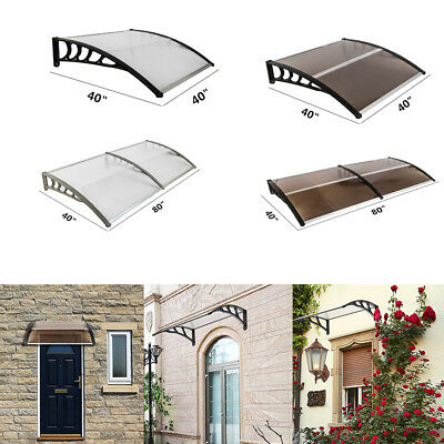 Outdoor Door Window Canopy Awning Porch Sun Front Shade Shelter Patio Rain Cover
