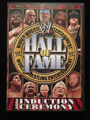"""2004 WWE """"Hall of Fame Induction Ceremony"""" 2 Disc DVD"""