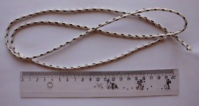 Round Wick For Oil Lamp 1 Meter (1.09 Yards) (Thin See Photos)