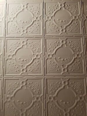 antique tin ceiling tiles from historic home
