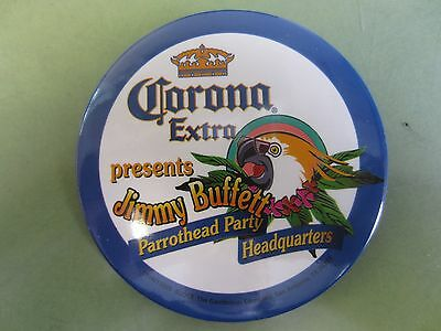Corona Extra Beer Presents Jimmy Buffet Parrothead Party Headquarters Pins - NOS
