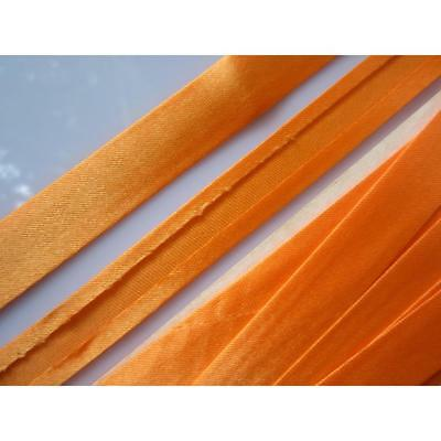 10 mètres ruban de satin Bordure en satin orange1,5cm dentelle Elegant BA 056 FR