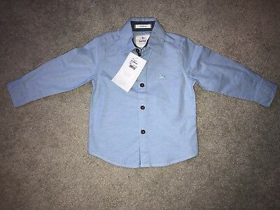 Baby Boys Shirt 18-24 Months (Light Blue) Jasper Conran