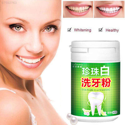 A682 Antibacterial Pearl Tooth Powder Fashion Teeth Whitening Pearl Powder Home