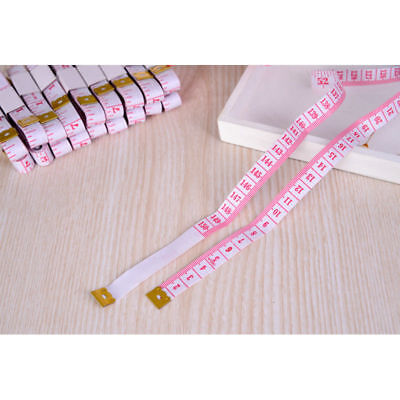 NEW HOT 60in/150cm Body Measuring Ruler Sewing Cloth Tailor Tape Measure red