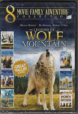 8 Movie Family Adventure Collection (DVD)  2-Disc Set) ~ BRAND NEW ~ FREE SHIP~