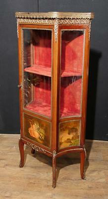 Antique Display Cabinet - Vernis Martin 1890 Angela Kaufman Vitrine