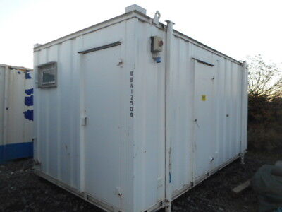 16'x9' anti vandal 3 +1 toilet portable building site welfare office £2250+VAT