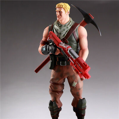 """Fortnite jonesy PVC Figure with Accessories 8"""" Toy Figure Action Kids Fans Gift"""