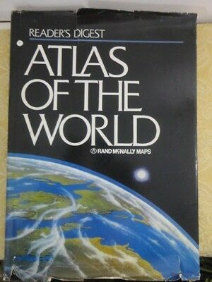Readers Digest Atlas of the World 1987 Rand McNally Maps