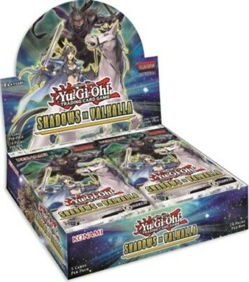 Shadows in Valhalla Booster Box x1 Yu-Gi-Oh Booster Box SEALED