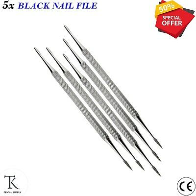 5 x Nail File Ingrown Toe Nail Lift Double ended Podiatry Chiropody Instruments