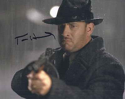 TOM HANKS SIGNED ROAD TO PERDITION  8x10 PHOTO - UACC & AFTAL RD AUTOGRAPH