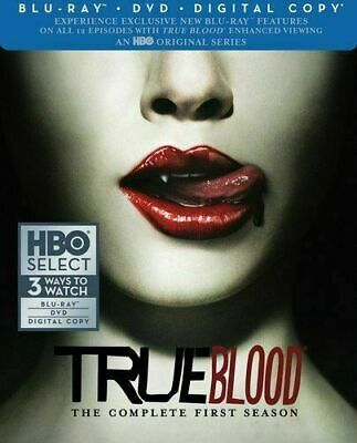 True Blood - The Complete First Season (Slim) [Blu-ray] Sealed & New!