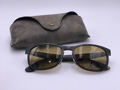 7ae2930e87 Ray Ban RB4263 894 A3 Polarized Bronze Mirror Chromance TORTOISE AUTHENTIC  Italy