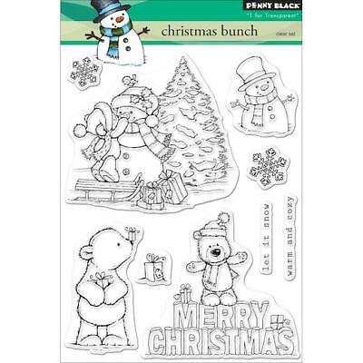 Penny Black Clear Stamps - Christmas Bunch 30-520