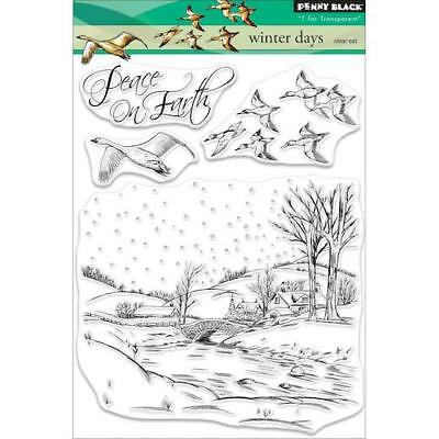 Penny Black Clear Stamps - Winter Days 30-517