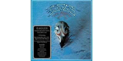 The Eagles - Their Greatest Hits Volumes 1 & 2 Vinyl LP