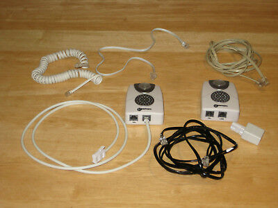 geemarc cl11  TWO GEEMARC CL11 Telephone Ringer Amplifiers with flashing light + ...