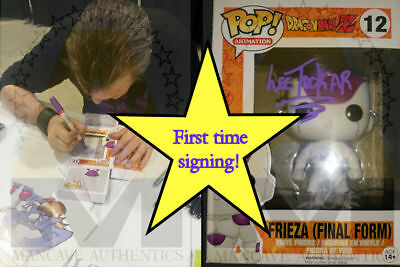 Dragon Ball Z Autographed Signed Frieza Pop FIRST EVER SIGNING! Lee Tockar P-COA
