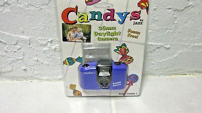 VINTAGE 1980s CANDY BY JAZZ PROMOTIONAL 35mm CAMERA