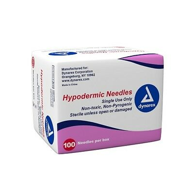 Dynarex 6960-6982 Hypodermic Needle - 100/Box, 10 Boxes/Case