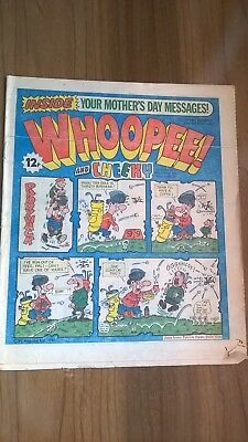 Vintage Whoopee And Cheeky Comic Mar 28Th 1981.