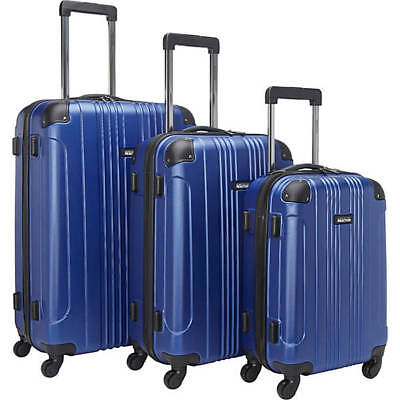Kenneth Cole Reaction Out of Bounds 3 Piece Hardside Spinner Luggage Set #570848