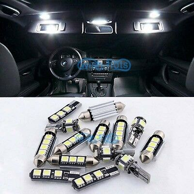 17X Interior White Canbus LED Light Package For 03-10 Porsche cayenne 955 957