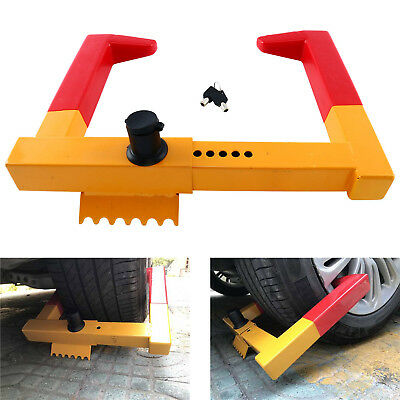 Wheel Lock Clamp Boot Tire Claw Trailer Auto Car Truck Anti-Theft Towing Lock