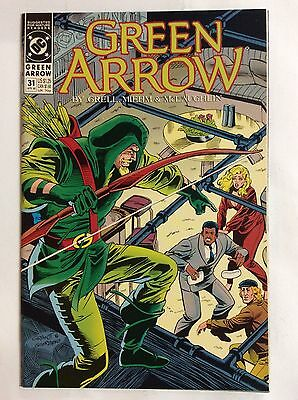 Green Arrow #31 (DC Comics) Aug. 1990
