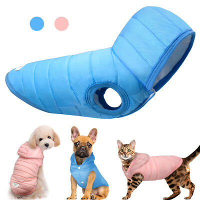 Winter Dog Clothes Pet Puppy Coat Jacket Hoodie Cotton Padded Clothing Chihuahua