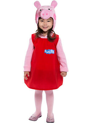 Peppa Pig Dress Toddler Costume 2T