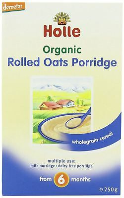 Holle Organic Rolled Oats Porridge 250g