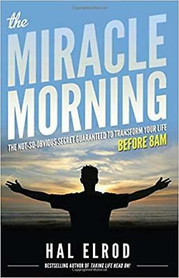 """The Miracle Morning""by Hal Elrod book Email Delivery[PDF]"
